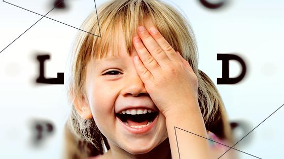 Saiba quando e por que levar a criança ao oftalmopediatra